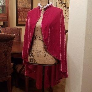 Jackets & Blazers - Hot pink Cape